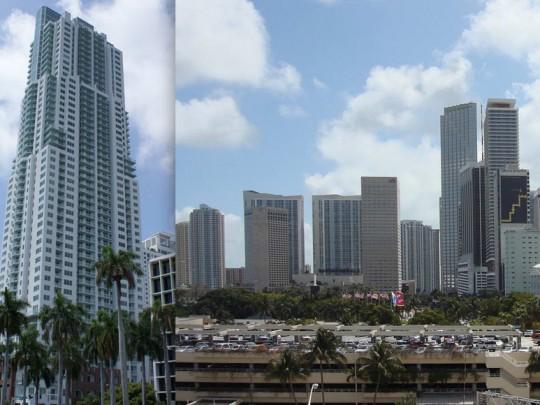 244 Biscayne Boulevard, Miami, Bianco Carrara Venatino