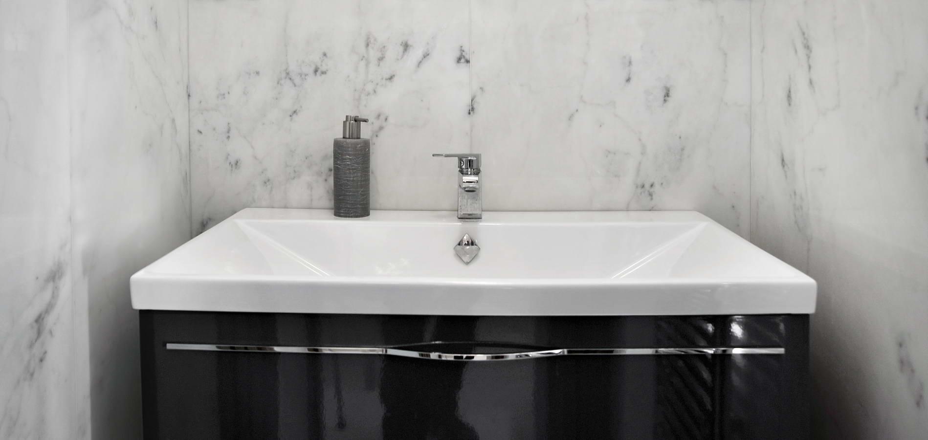 Bathroom Wall Cladding and Floor Paving, Calacatta