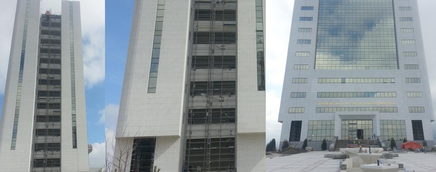 Ministry of Motor Transport Project, Turkmenistan